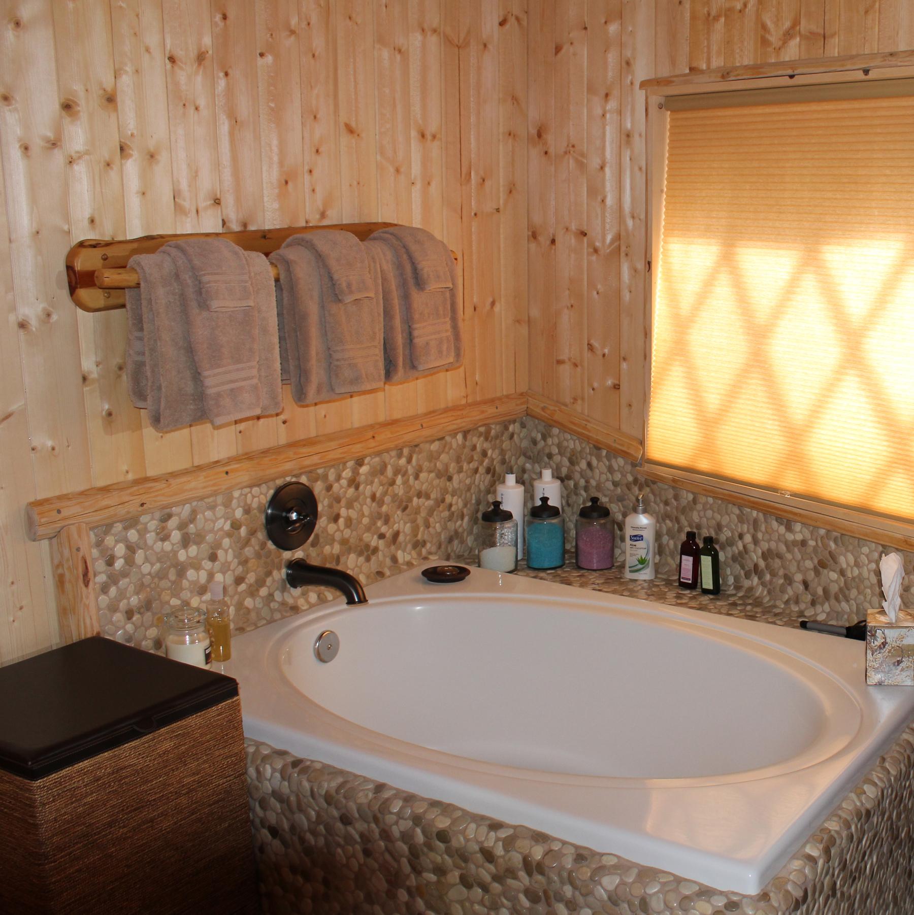 Bathroom Yurt the yurt | savvy entertaining