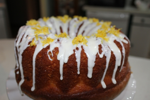 Sprinkle a little lemon zest on top and enjoy!
