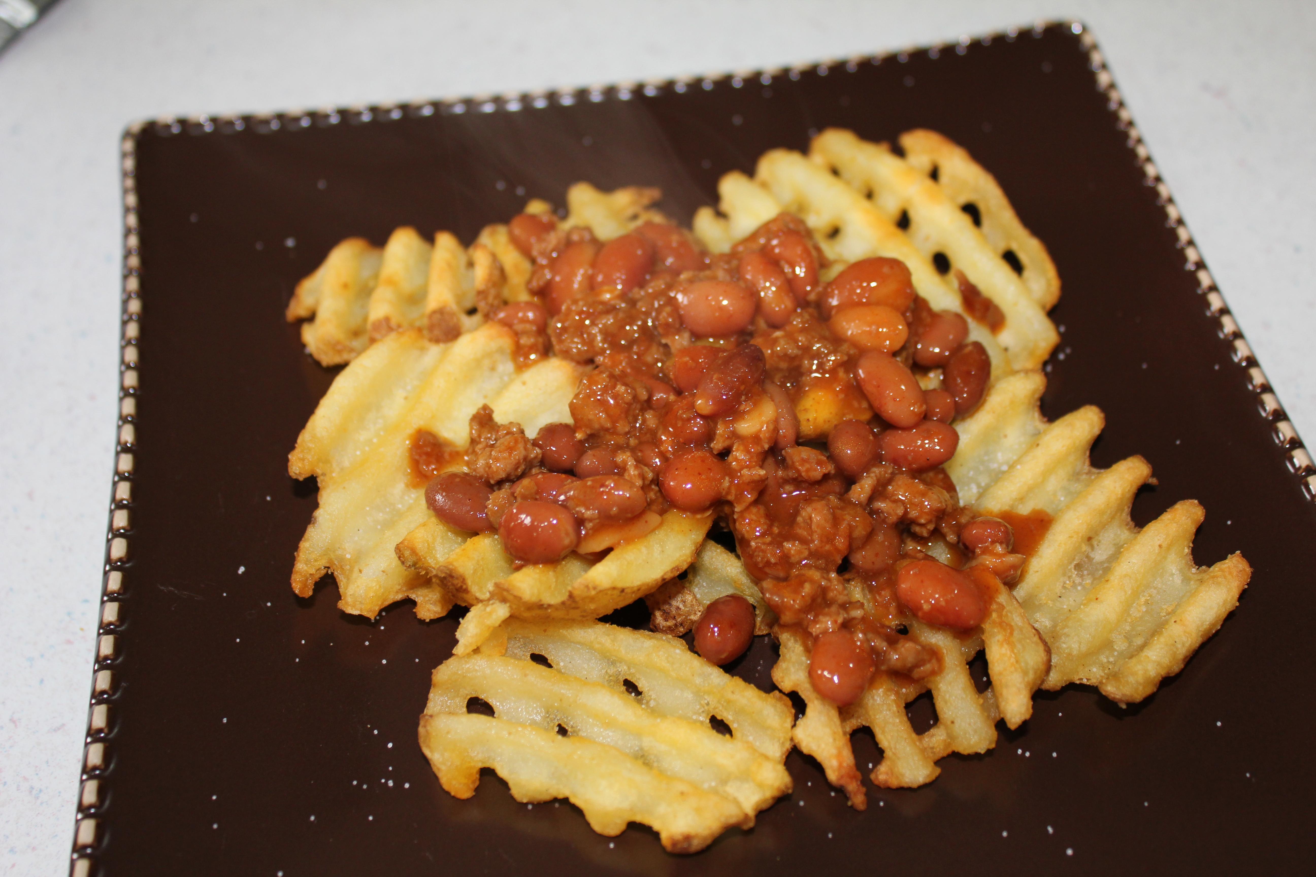 cowboy nachos add beans