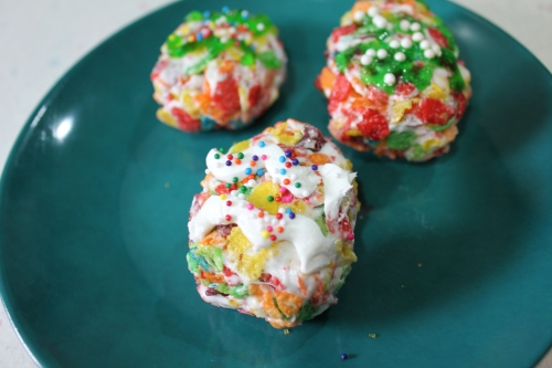 Fruity Pebbles Eggs