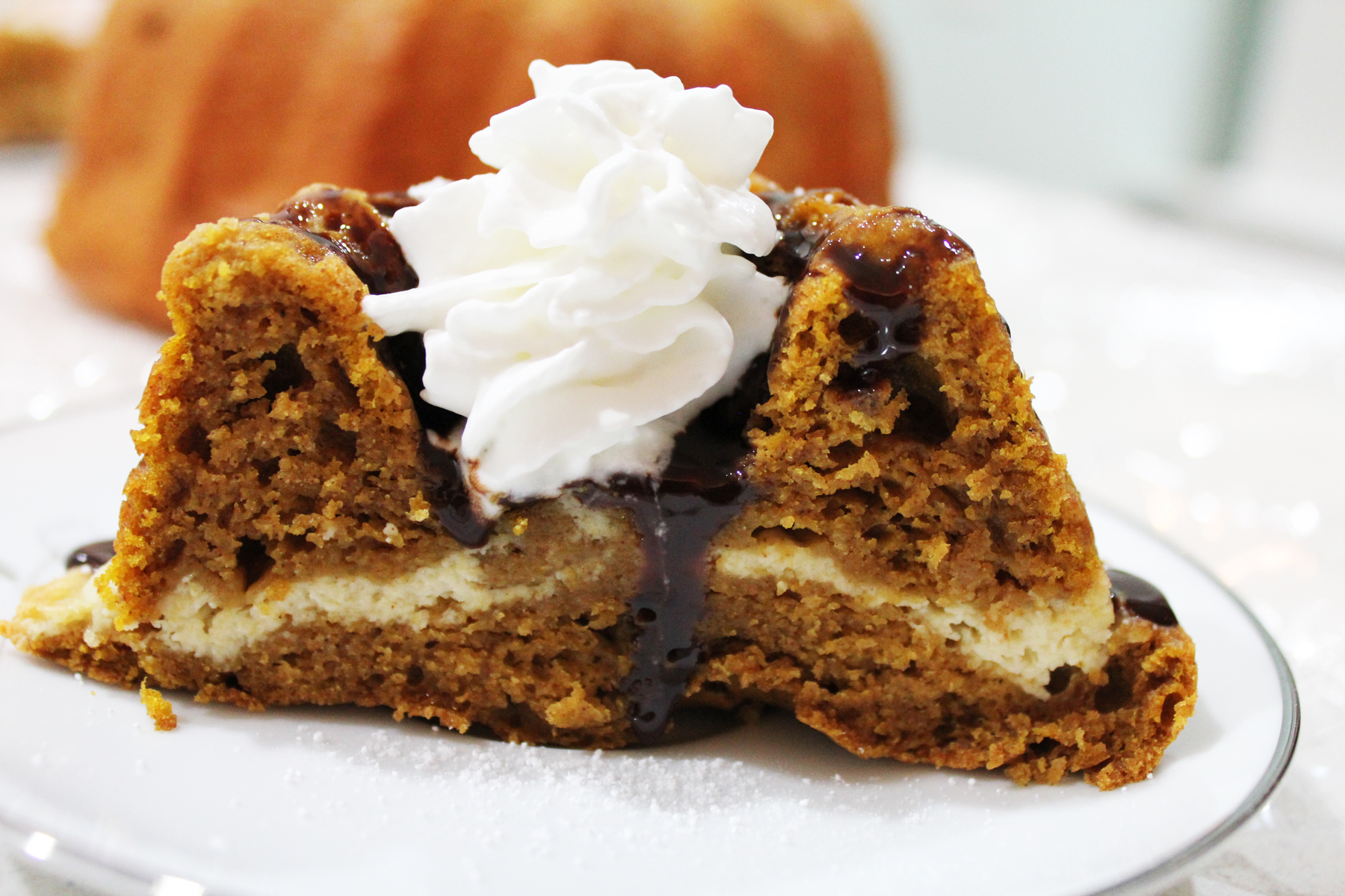 http://savvyentertaining.com/2012/10/12/pumpkin-bundt-cake-with-cream-cheese-filling/