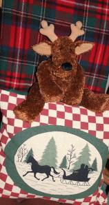 favorites moose in chair