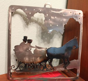 favorites sleigh trivet