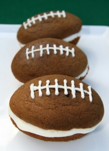Football Whoopie Pies from The Finer Things