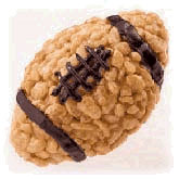 Rice Krispie Football from Life, Love, Beauty