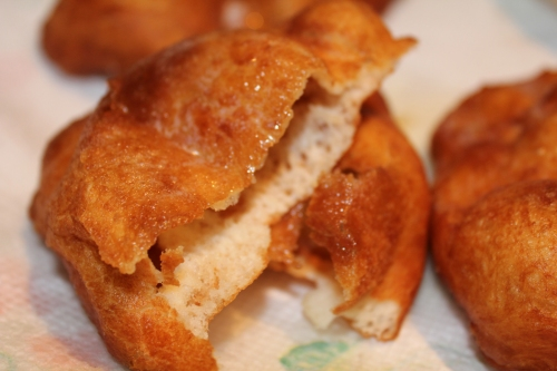 bread - fried and buttered