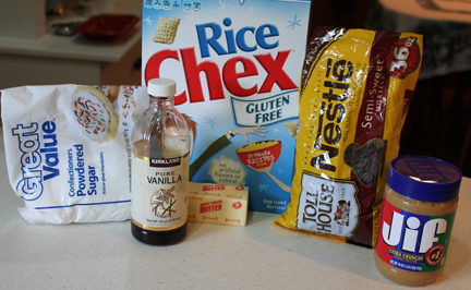 chex mix muddy buddy ingredients