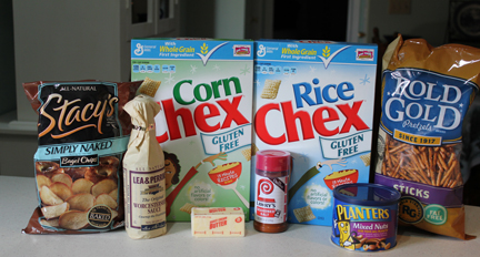 chex mix regular ingredients