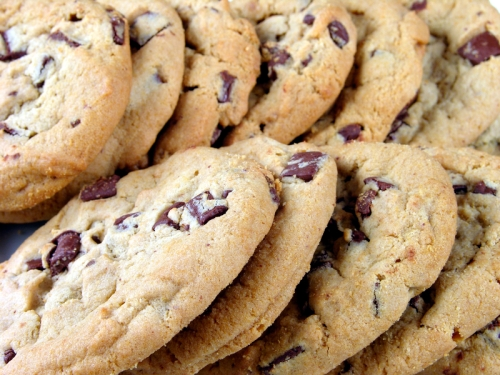 choc chip cookies