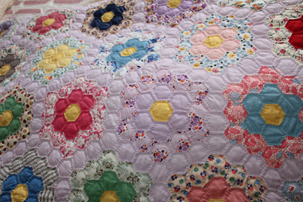 quilt mrs henry purple