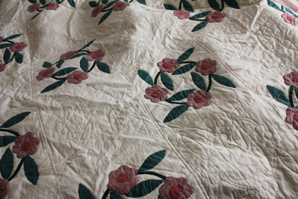quilt rose of sharon full