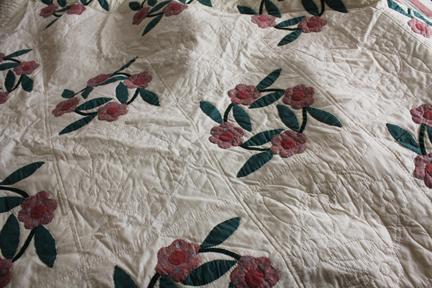 quilt rose of sharon full