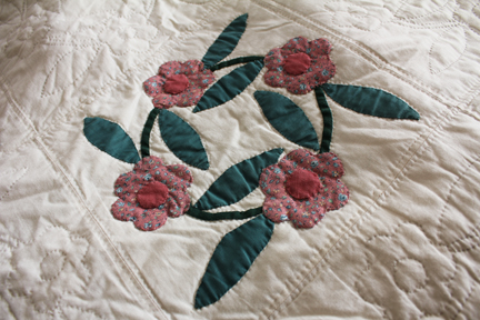quilt rose of sharon