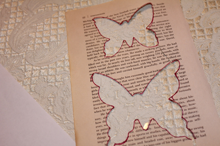butterfly craft cut outs on page