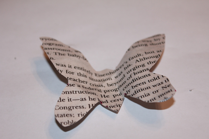 butterfly craft finished 2