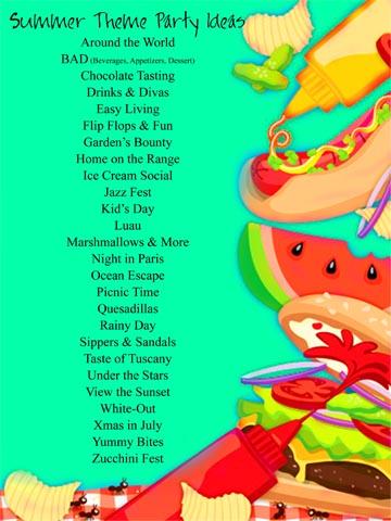 Summer Party Theme Ideas