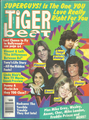 Tiger Beat October 1975