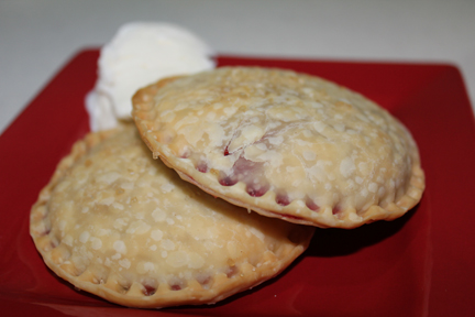 raspberry pie plated