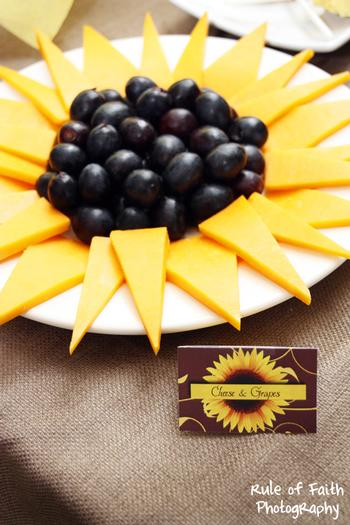 sunflower party cheese