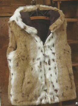 western fashion fur vest