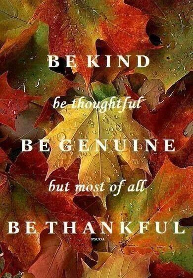 be thankfyul