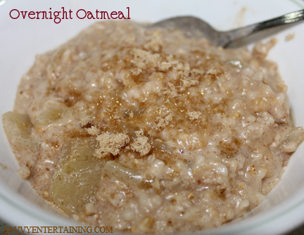 oatmeal finished
