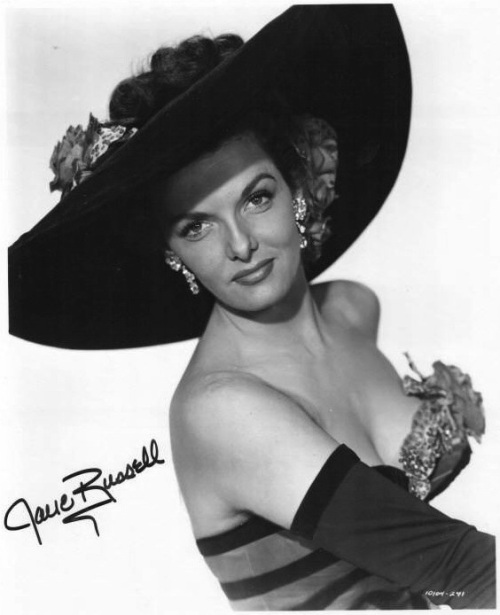 hat jane russell