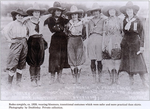 hats cowgirls 1920s