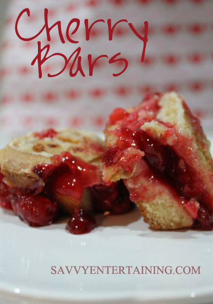 Cherry Bars plated