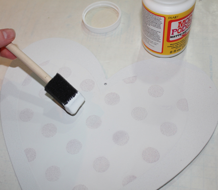 deco heart base coat