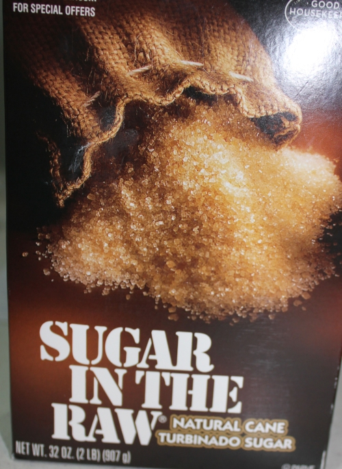 You need a box of sugar in the raw (turbinado sugar).