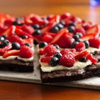 pizza brownie