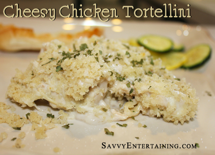 Chicken Tortelinni  plated