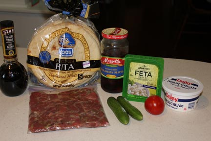 Gyro ingredients