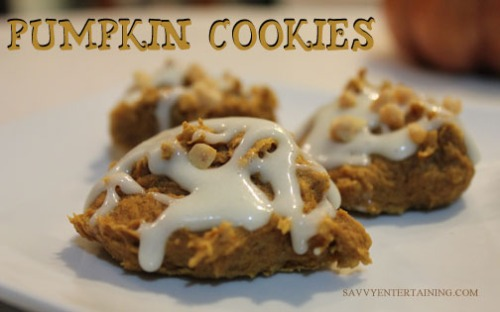 Pumpkin cookies 013